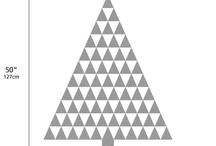 christmas cards / geometrical