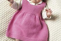 Vestidos de bebé rosa