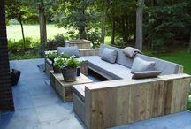 Backyard furniture