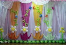 színpad dekor