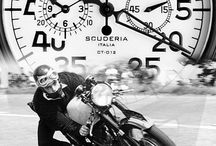 """CT Scuderia / LIFE, THE SAYING GOES is a journey, not a destination.  Along the way you discover your passions - which in turn beget inspiration the wellspring of your life's accomplishments.  Our latest """"coup de coeur"""" is Italian styled Contatempo Scuderia.  This timepiece blends perfectly the Café Racer Culture to Italian style and Swiss Accuracy."""