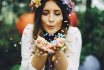 Bohemian Rainbow   Styled Shoots by La Fête