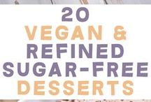 vegan & sugarfree deserts