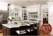 Kitchen Ideas / Kitchen design and kitchen remodeling ideas featuring real kitchens created by Normandy Remodeling in the Chicago metro area.  Includes white kitchens, dark kitchens, stained kitchens, painted kitchens in contemporary, traditional, transitional and eclectic styles.