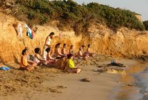 Retreats & Yoga Holidays 2014 / Schedule of retreats on yoga, meditation, movement, dance, wellness, tai-chi. Also, Yoga Holiday packages at Okreblue Seaside Retreat Center on Paros Island, Greece.