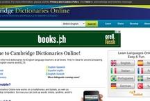 Słowniki online / Słowniki online języka angielskiego, niemieckiego i francuskiego