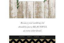 Website for Wedding