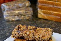Homemade granola bars & bites