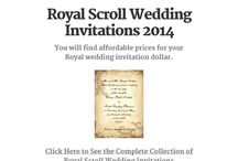 Wedding Invitations with Detachable RSVP Cards / Many unique and innovative designs of Wedding Invitations.