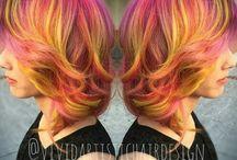 Haarfarben / Färbetechnik