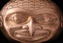 Brian Walker: Copper Stories / We are very pleased to present the work of Whitehorse artist Brian Walker.  Though not First Nations himself, through his marriage to Ann Smith of the Kwanlin Dun First Nation, he has been deeply involved in the cultures of that area, raising their children and grandchildren with a deep consciousness of their First Nation heritage.  https://inuit.com/collections/brian-walker-copper-stories