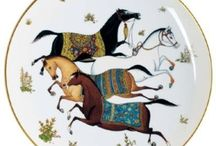 To Dine Equine / Plates, china, etc. inspired by horses / by Natalie Zandbergen