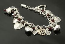 I love Charm Bracelets / Charm bracelets are just like me loud, colorful and so much fun!