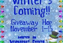Winters Coming Giveaway Hop