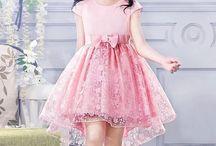 vestido de fiesta de niña