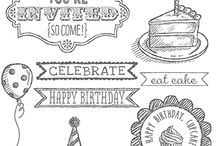 STAMPIN UP Sketched Birthday