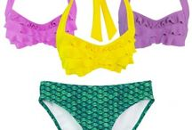 Swimsuits / Look just like a mermaid swimming in our scale pattern swimsuits or match your favorite tail with our mermaid swimsuits for women, teen, and kids; available in bikini and tankini styles.   www.finfunmermaid.com/swim-suits-and-sets/bikini-sets