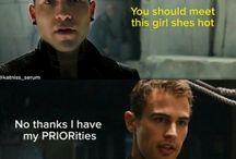 Divergent, Insurgent, Allegiant, Four