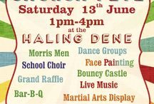 summer fete posters