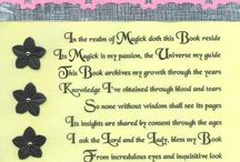 Book Of Shadows / by Chaeli Marie Nylund
