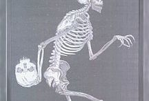 Skeleton in The closet  / by Marie Meier Feral Art