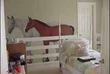 Horse Themed Bedroom / by Stephanie Strong-Clark