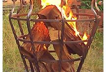 metal fire basket