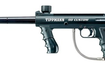 Some of our favorite paintball markers / Splat!
