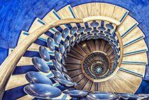cầu thang xoắn nghệ thuật / Chiêm ngưỡng mẫu thiết kế cầu thang xoắn ốc tuyệt đẹp khắp thế giới (P.1)