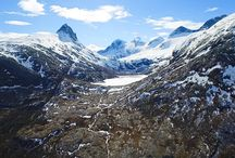 Spring in Northern Norway / Pictures from my hikes during spring in Northern Norway