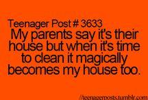teenager's life be like