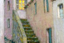 Henri Le Sidaner on the outside looking in