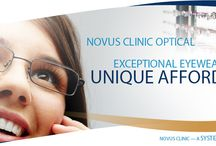Affordable Glasses / Novus Clinic offers unique affordable glasses and sunglasses to fit all your current style needs