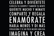 Frases y carteles