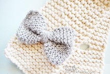 Knit bows / by Joanie Benninghofen Carter