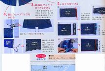 Japanese sewing patterns and designs