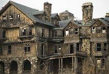 Régi elhagyatott házak