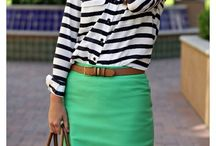 Who wants to wear a green skirt??