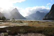 New Zealand landscape. / What makes NZ Gods Own in our mind is the prevalence of very nice landscapes.