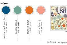 Card Making - Color, Copics, Sketches, Tips, Tutorials