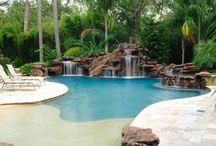 Beach Entry pools