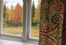 In my studio / Pictures from Art Expedition Glass studio in Swedish Lapland