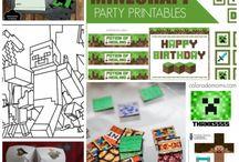 Minecraft Birthday Idea's / Minecraft Birthday