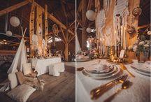 BOHO DEKORACJE / Dekoracje ślubne w stylu Boho, realizowane w Trójmieście, Boho Wedding Polish Dress