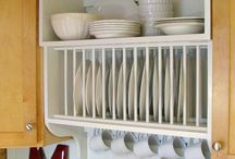 cabinet plate rack