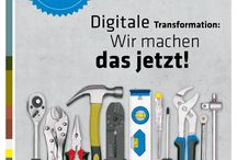 """Digitale Transformation / Hier erfahrt ihr alles über unsere aktuelle Kampagne """"Digitale Transformation""""."""