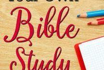 Bible study notebook