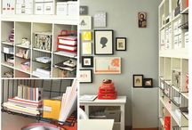 Storage/Organization: Office, Craft & Laundry Room / by Allison Lott