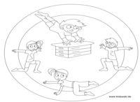 Kleuter sport. / Thema sport voor kleuters.