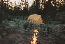 CAMP / camps, tents, fires, adventures